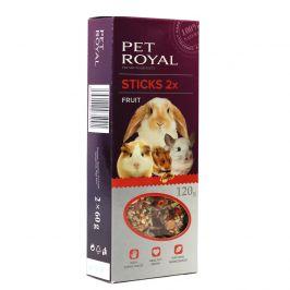 Pet Royal stick Hlodavec ovoce 2ks