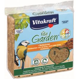 Vitakraft VitaGarden Energie blok s moučnými červy 300g