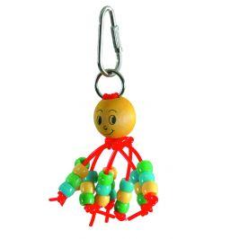 Caitec Hračka Baby Budgie Beads 11cm