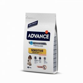 ADVANCE DOG Adult Sensitive 3kg