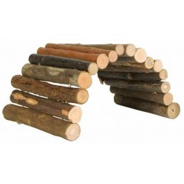 Huhubamboo Dřevěný můstek S