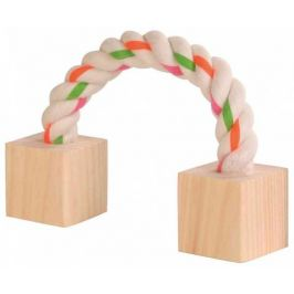 Huhubamboo lano s dřevěnými kostkami