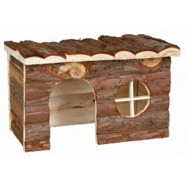 Huhubamboo Dřevěný přírodní domek M