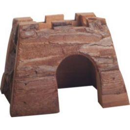 Huhubamboo Dřevěný přírodní hrad pro malé hlodavce