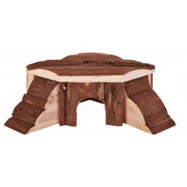 Huhubamboo Domek rohový Thordis 21x7x19 cm