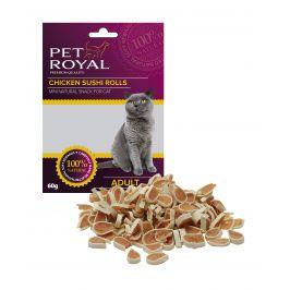 Pet Royal Cat kuřecí Sushi 60g (expirace: 15.2.2021)