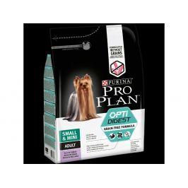 Purina Pro Plan small & mini adult OptiDigest Grain Free krůta 2,5 kg