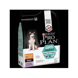 Purina Pro Plan medium & large adult OptiDigest Grain Free krůta 2,5 kg