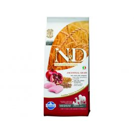 N&D Low Grain Adult Chicken & Pomegranate 12kg