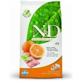 N&D Grain Free Adult Fish & Orange 12kg