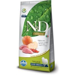N&D Grain Free Adult Maxi Boar & Apple 12kg