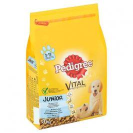 Pedigree Junior kuře+rýže 3kg