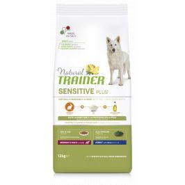 Trainer Natural Sensitive Plus Adult Medium / Maxi kralík 12kg