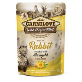 Kapsička Carnilove Cat Pouch Rabbit with Marigold 85g