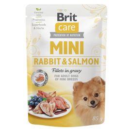 Kapsička Brit Care Mini Rabbit&Salmon fillets in gravy 85g