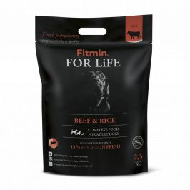 Fitmin dog For Life Beef & Rice 2,5kg