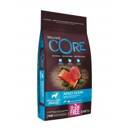 Wellness Core Dog Ocean losos a tunak 10+2kg