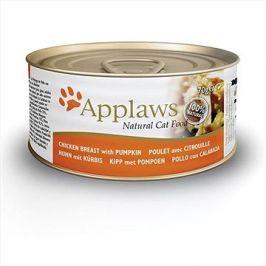 Applaws konzerva Cat kuřecí prsa a dýně 70 g