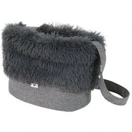 Olala Pets taška Luxury 32 cm světle šedá
