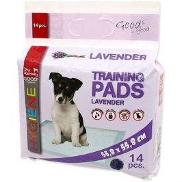 DOG FANTASY podložka lavender 55,8×55,8cm 14ks