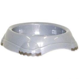 MAGIC CAT Miska plast s protiskluzem 210 ml šedá