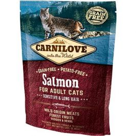 Carnilove salmon for adult cats – sensitive & long hair 400 g