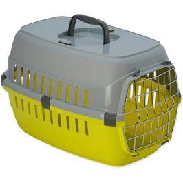 DOG FANTASY přepravka Carrier 48,5×32,3×30,1cm žlutá