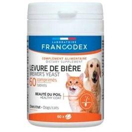 Francodex Brewer Yeast (pivovov. kvas) pes,kočka 60tab.