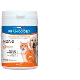 Francodex Omega 3 Capsules pes, kočka 60tab.