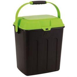 Maelson Box na granule pro 3,5 kg krmiva - černo-zelený - 27× 22× 31 cm