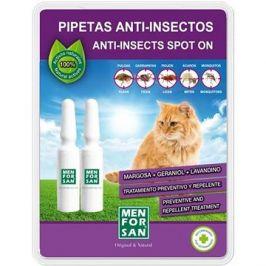 Menforsan Antiparazitní pipety pro kočky 2 ks