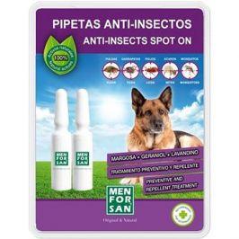 Menforsan Antiparazitní pipety pro psy 2 ks