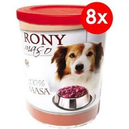 Rony maso 800 g, 8 ks
