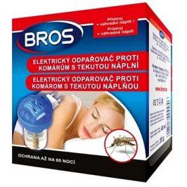 Odpařovač BROS elektrický proti komárům tekutá náplň 46ml