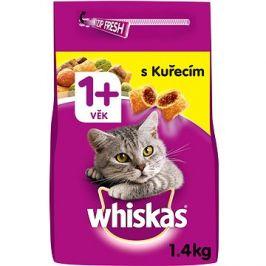Whiskas granule kuřecí pro dospělé kočky 1,4 kg