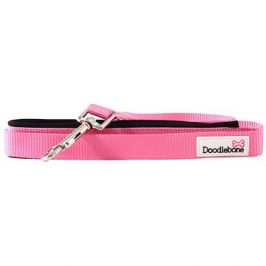 Vodítko Doodlebone Pink L