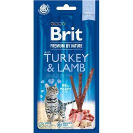 Brit Premium by Nature Cat Sticks with Turkey & Lamb 3 ks