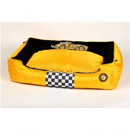 Kiwi Walker Racing Cigar pelech z ortopedické pěny, velikost XXL, žlutý