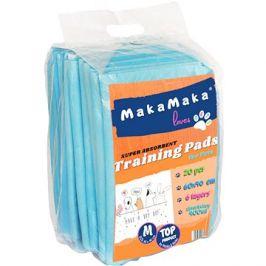 MakaMaka Super Absorbent Training Pads for Pets  M – 40 × 60 cm 20 ks