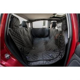 Reedog ochranný potah do auta pro psa na zip + boky - černý (M)