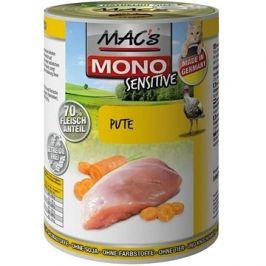 MAC's Cat MONO Sensitive Krůtí s mrkví 200g