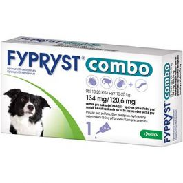 Fypryst Combo spot on pes 10-20 kg 1 × 1,34 mg