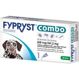 Fypryst Combo spot on pes 20-40kg 1 × 2,68 mg