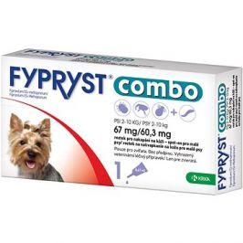 Fypryst Combo spot on pes 2-10 kg 1 × 0,67 ml