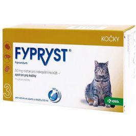Fypryst spot on kočka 1 × 0,5 ml