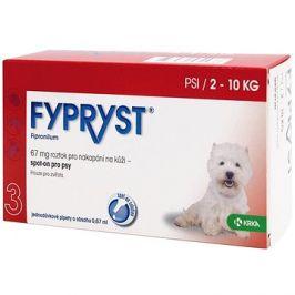 Fypryst spot on pes 2-10 kg S 1 × 0,67 ml