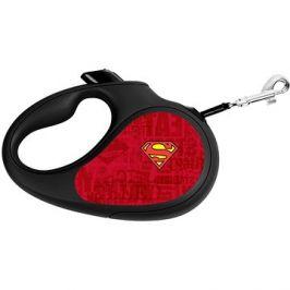 Waudog Vodítko samonavíjecí DC Superman 12 kg/3 m/XS