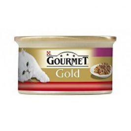 Gourmet Gold konz. kočka jemná paštika s hovězím 85g