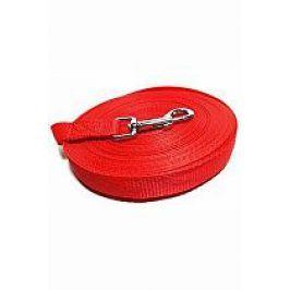 Vodítko DINOFASHION stopovací ploché červené 5m/2cm
