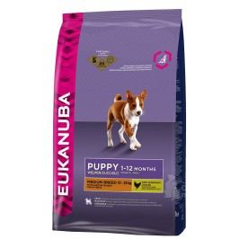 Eukanuba Dog Puppy&Junior Medium 3kg